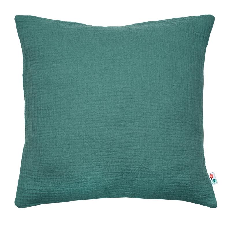 Pillowcase Muslin Jade Handmade