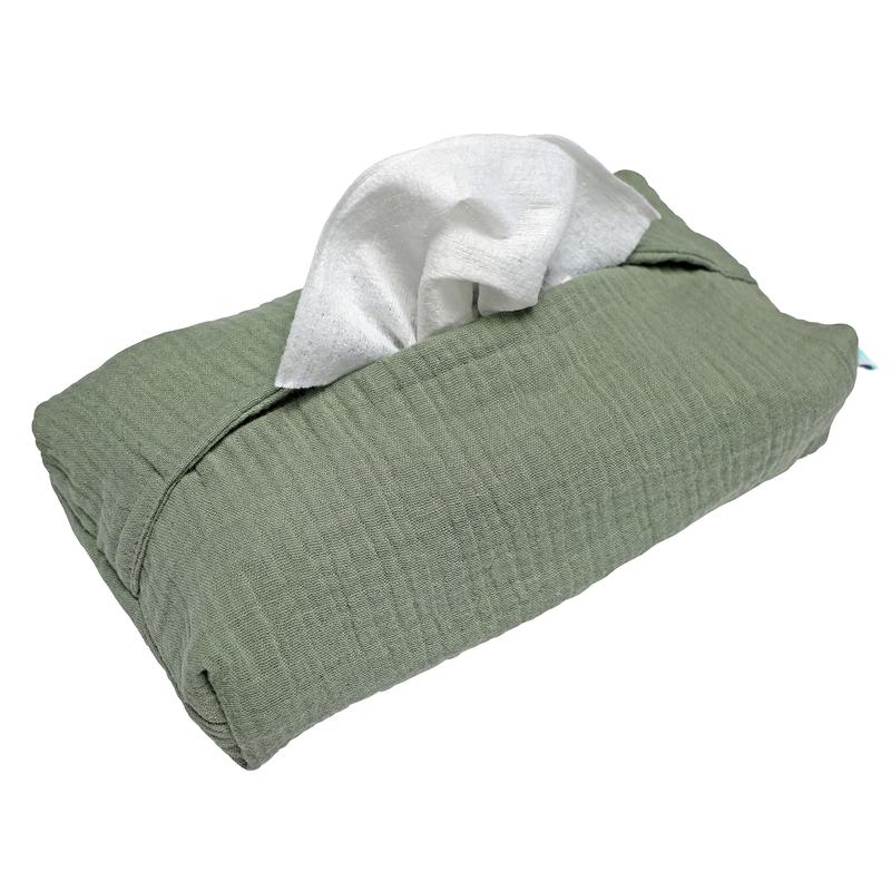 Wet Wipe Cover Muslin Khaki
