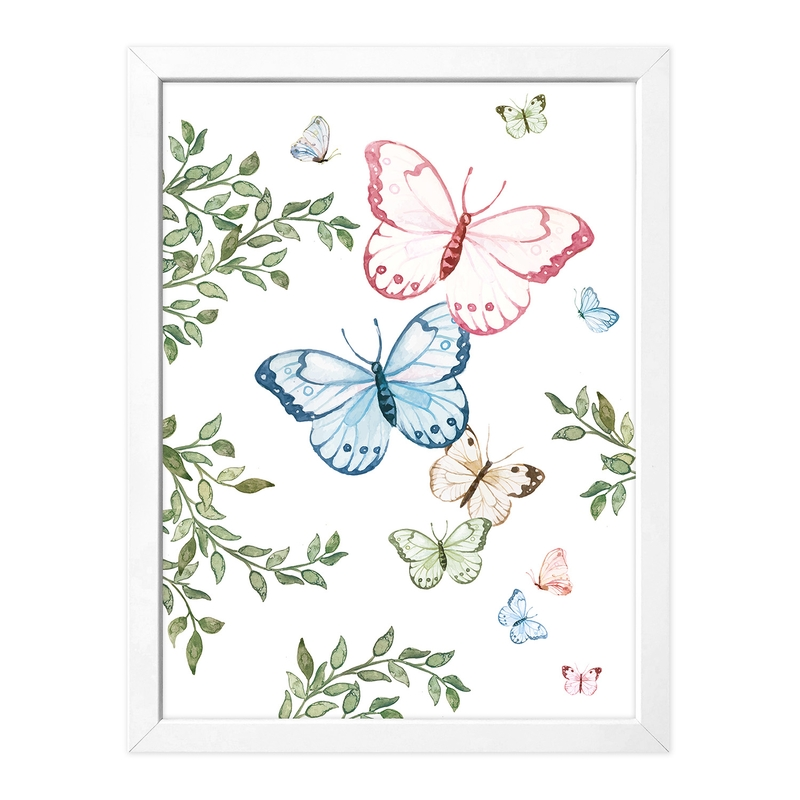 Poster 'Schmetterlinge' 30x40cm