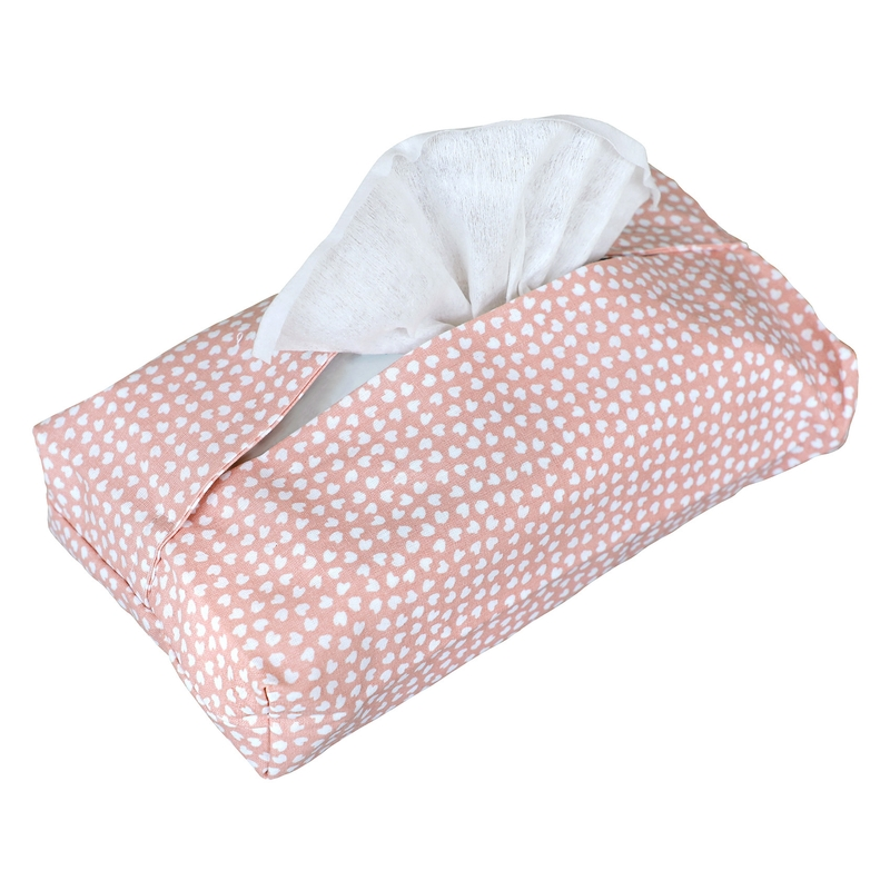 Wet Wipe Cover 'Hearts' Pink