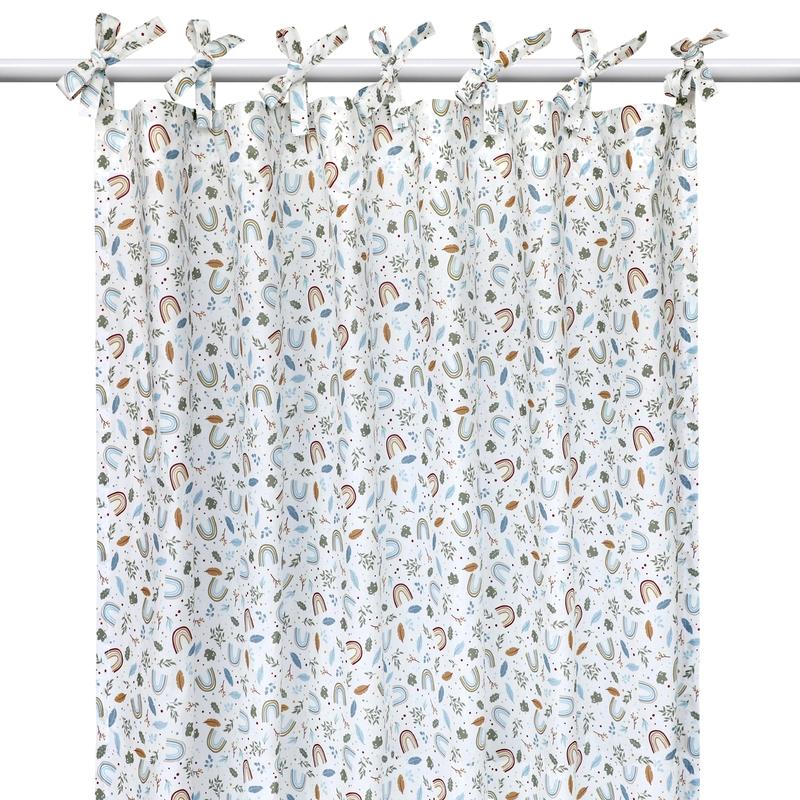 Curtain 'Rainbow' H 240cm Handmade