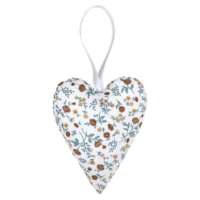 Heart Shaped Pendant 'Buttercup' Blue 10cm