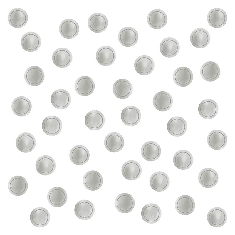 Wall Stickers 'Dots' Watercolour Light Grey