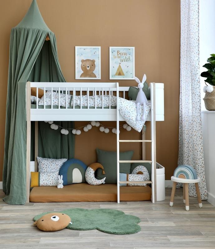 Kidsroom with loft bed mini+