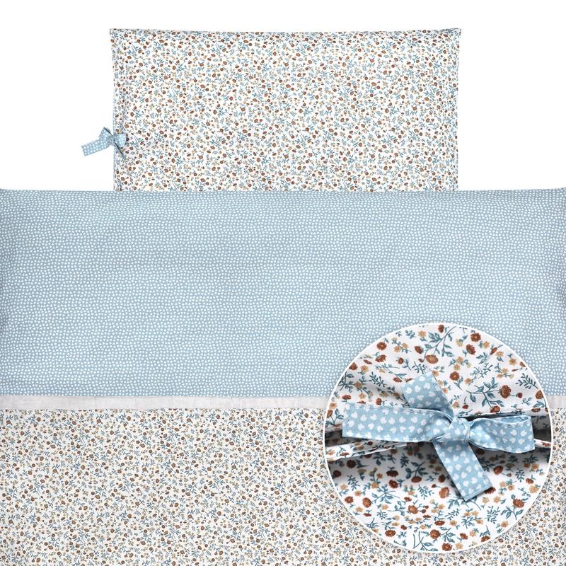 Bedding 'Buttercup' Blue 100x135cm