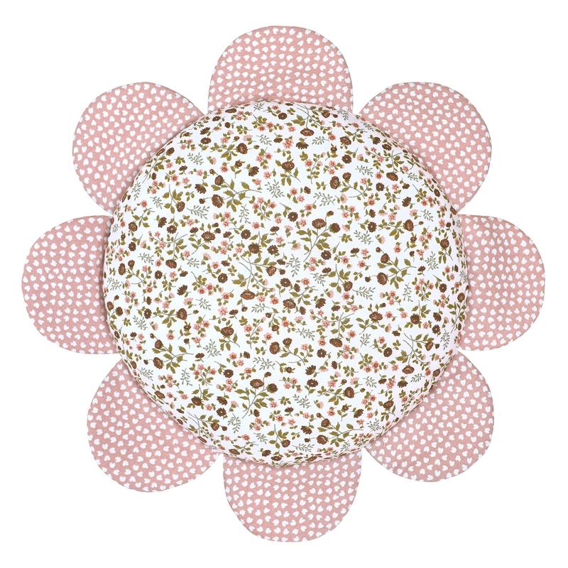 Blumenkissen 'Buttercup' rosa 25cm