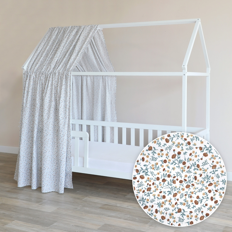 House Bed Canopy 'Buttercup' Blue 350cm 1 Piece