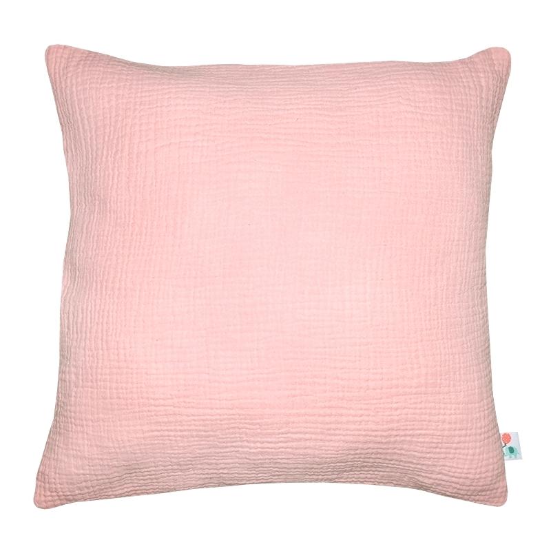 Pillowcase Muslin Light Pink Handmade
