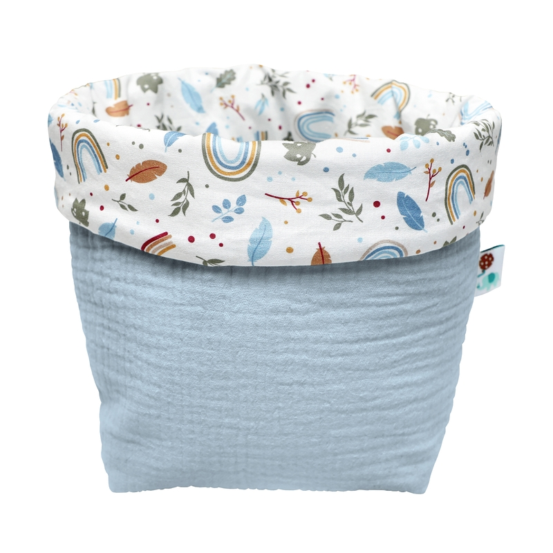 Storage Basket 'Rainbow' Blue 16cm